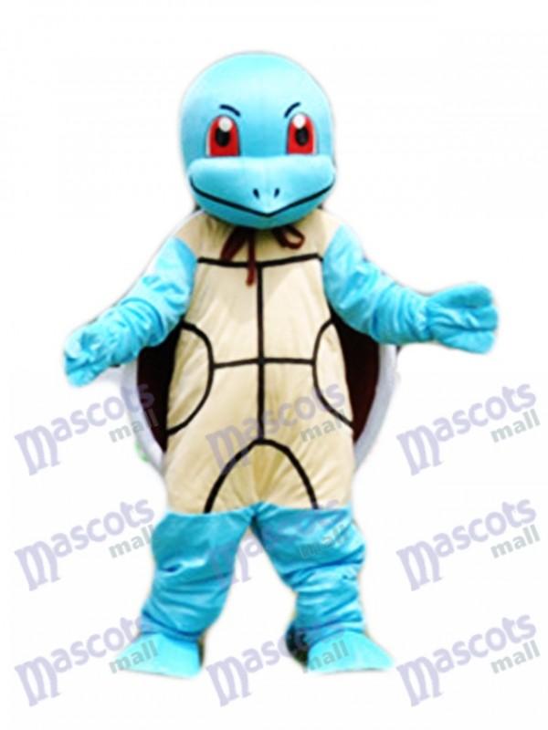 Squirtle Zenigame Hellblau Schildkröte Pokémon Pokemon Gehen Maskottchen Kostüm Fancy Dress Outfit