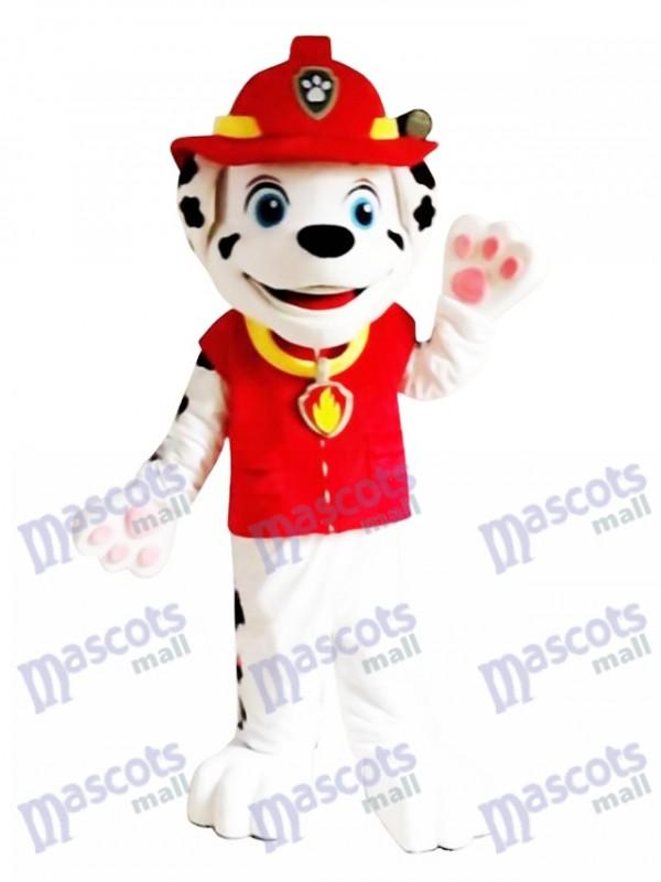Paw Patrol Marshall Dog Maskottchen Kostüm mit roter Kleidung Kostüm