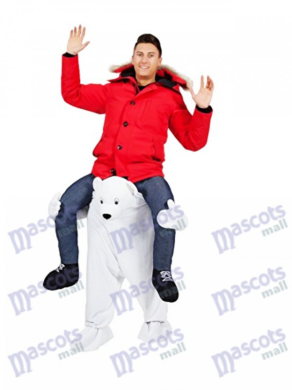 Eisbär tragen mich Maskottchen Kostüm weißer Bär Maskottchen