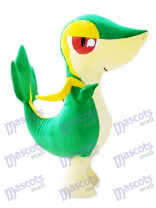 Snivy Tsutaaja Gras Schlange Pokémon Gehen Maskottchen Kostüm