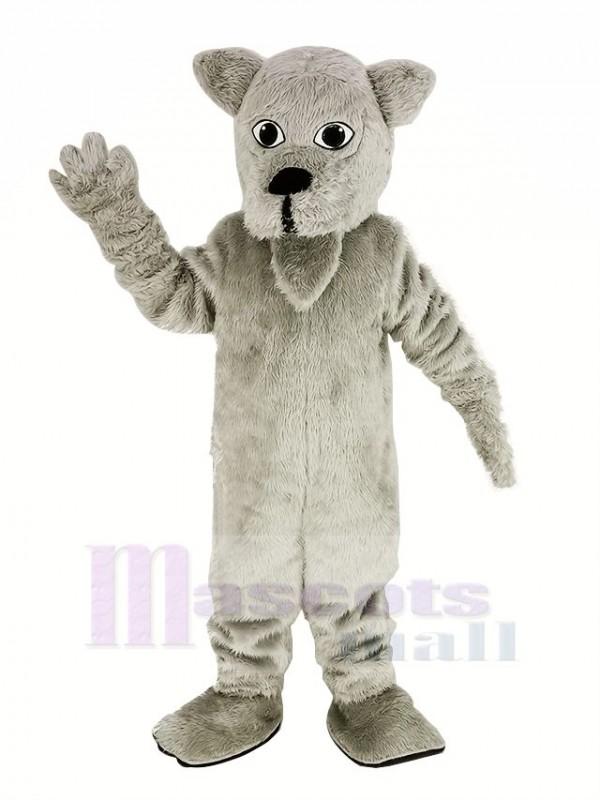 Behaart Weiß Scottie Hund Maskottchen Kostüm Tier