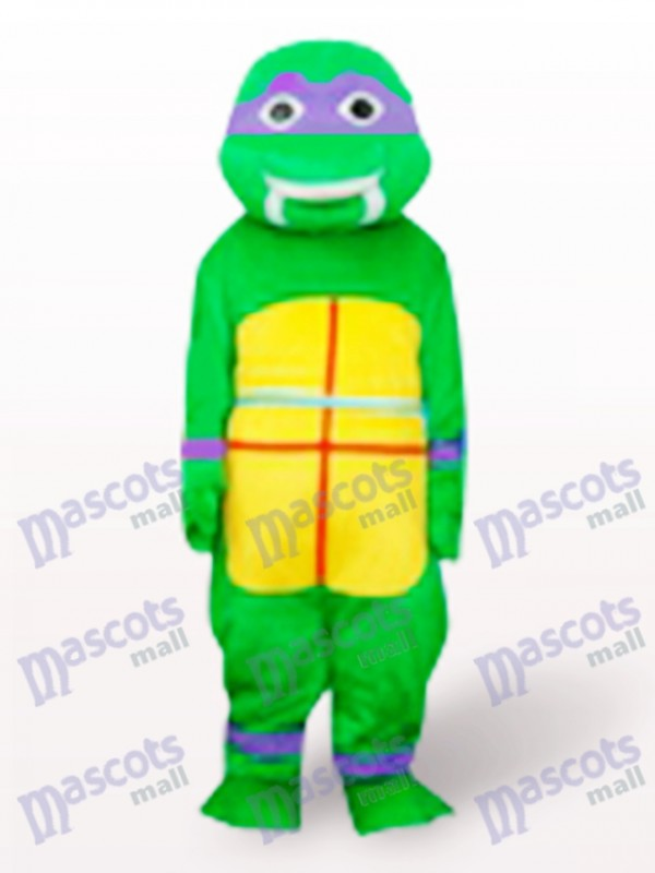 Lila Teenage Mutant Hero Turtles Erwachsene Maskottchen Kostüm