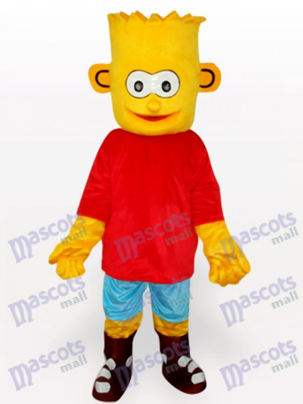 Bart Simpson Sohn Anime Maskottchen Kostüm