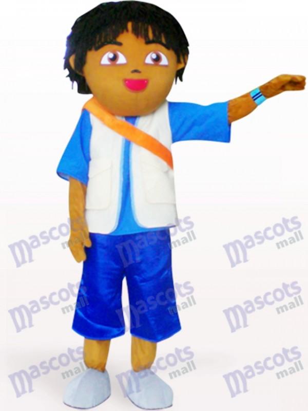 Freund von Dora Anime Maskottchen Kostüm