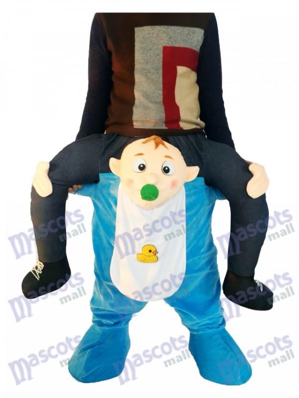 huckepack baby carry me ride auf infant maskottchen kost m. Black Bedroom Furniture Sets. Home Design Ideas