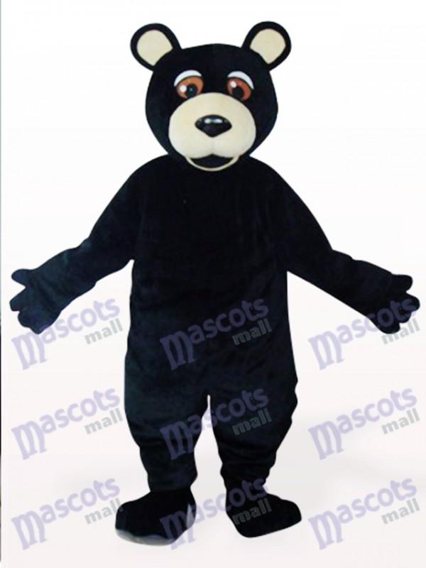 Schwarz bär Plüsch Maskottchen Kostüm