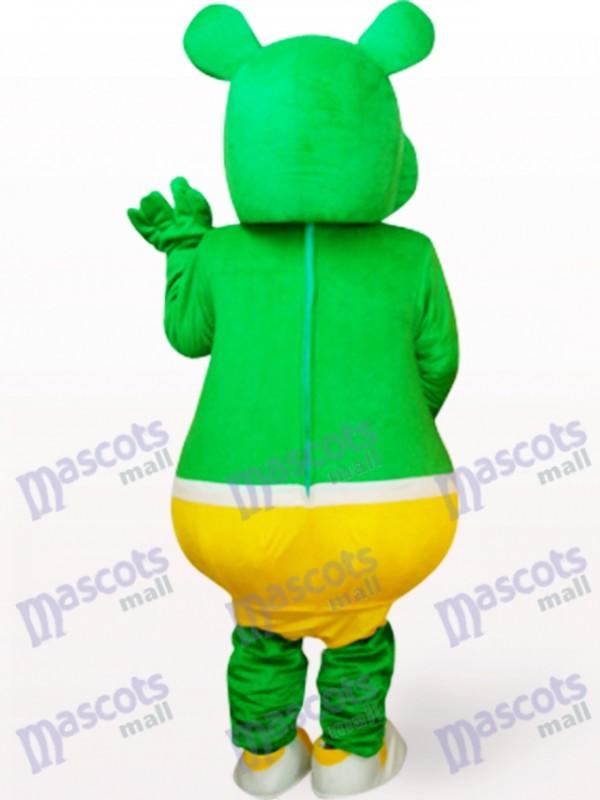 Grüner Bär Monster Plüsch Maskottchen Kostüm