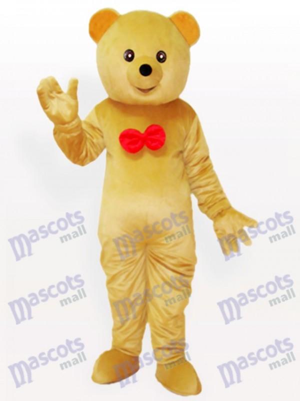 Teddy bär Maskottchen Kostüm