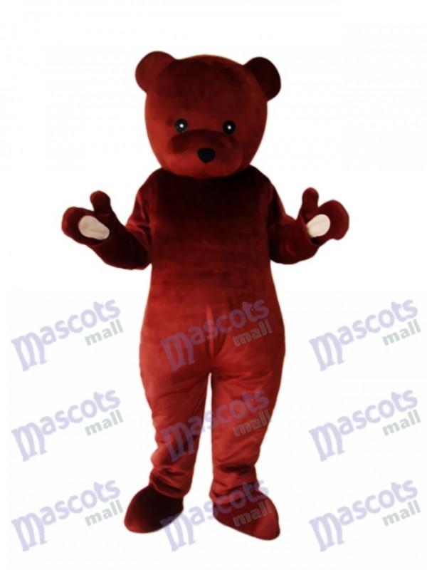 Koch Braunbär Maskottchen Erwachsene Kostüm Tier