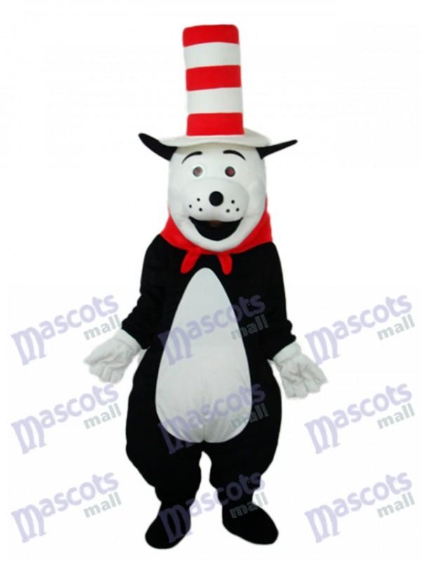 Bär mit Hut Maskottchen Erwachsene Kostüm Tier
