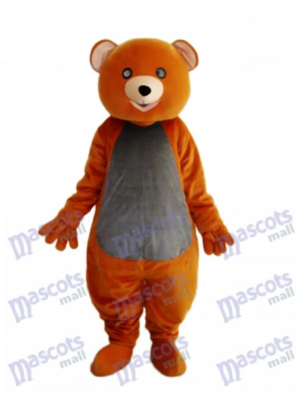 Brown Teddybär Maskottchen erwachsenes Kostüm Tier