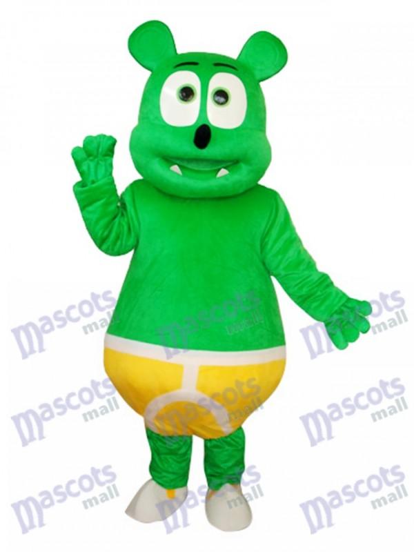 Green Bear Maskottchen Kostüm für Erwachsene Tier
