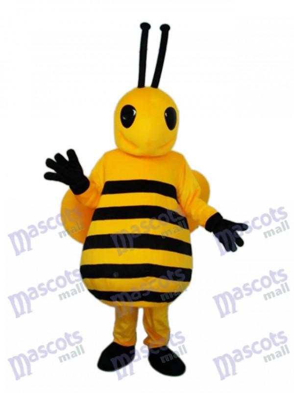 Kleine gelbe Biene Maskottchen Kostüm für Erwachsene Insekt
