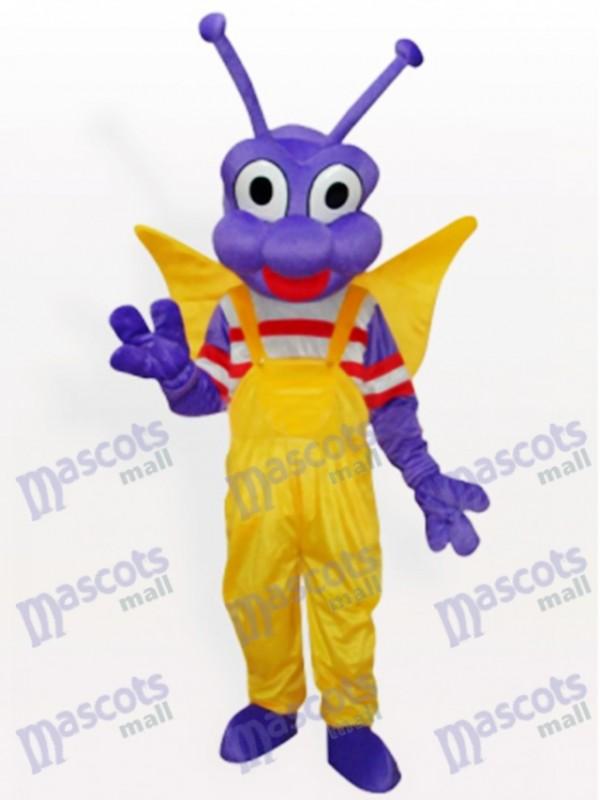 Lila BEE Bo Dudu Maskottchen Kostüm für Erwachsene