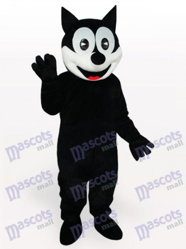 Happy Cat Tier Maskottchen Kostüm für Erwachsene
