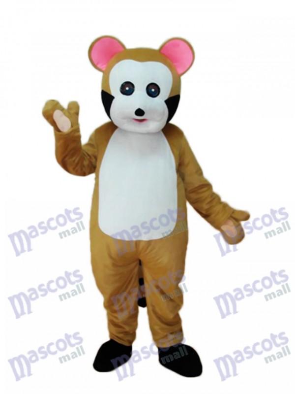 Kleine braune Bobcat Maskottchen Erwachsenen Kostüm Tier