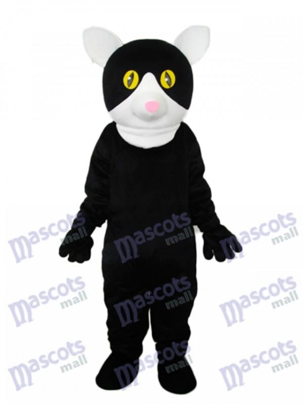 Kleine schwarze Katze Maskottchen Erwachsenen Kostüm Tier