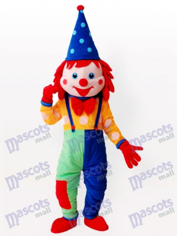 Clown Maskottchen Kostüm für Erwachsene