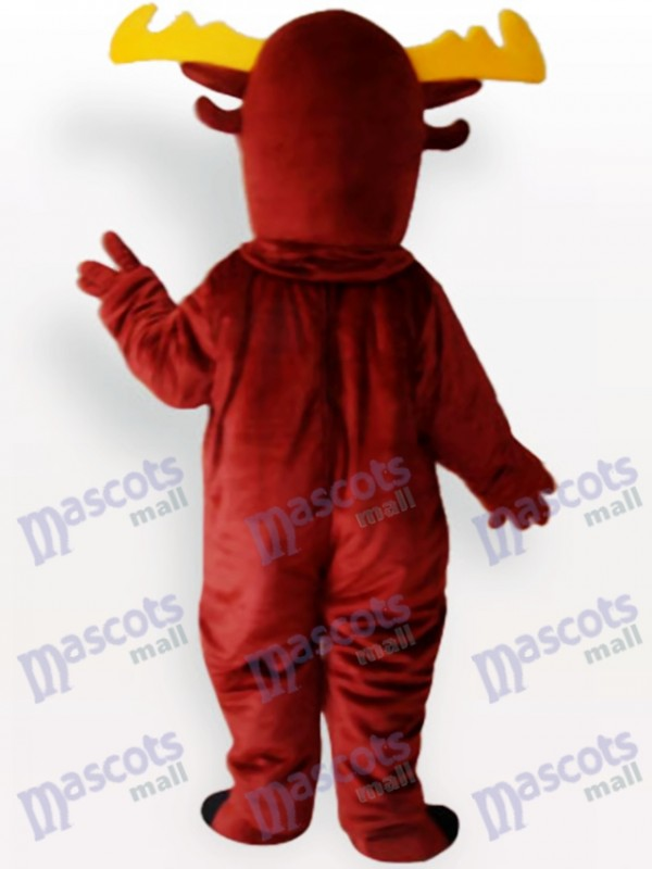 Rentier Erwachsene Maskottchen Kostüm