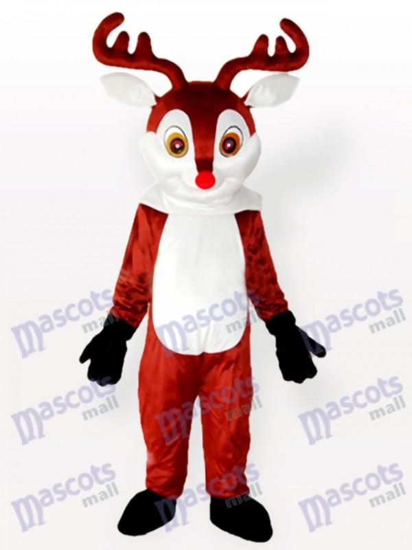 Little Reindeer Brown Adult Mascot Costume