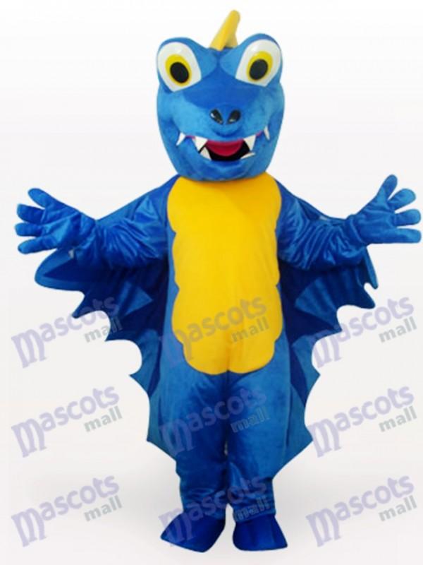 Blue Dinosaur Maskottchen Kostüm für Erwachsene
