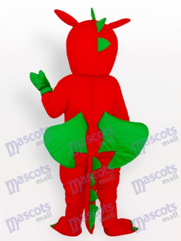 Red Dinosaurier Tier Maskottchen Kostüm für Erwachsene
