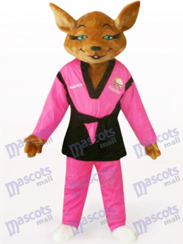 Red Tyke Hund Tier Maskottchen Kostüm für Erwachsene
