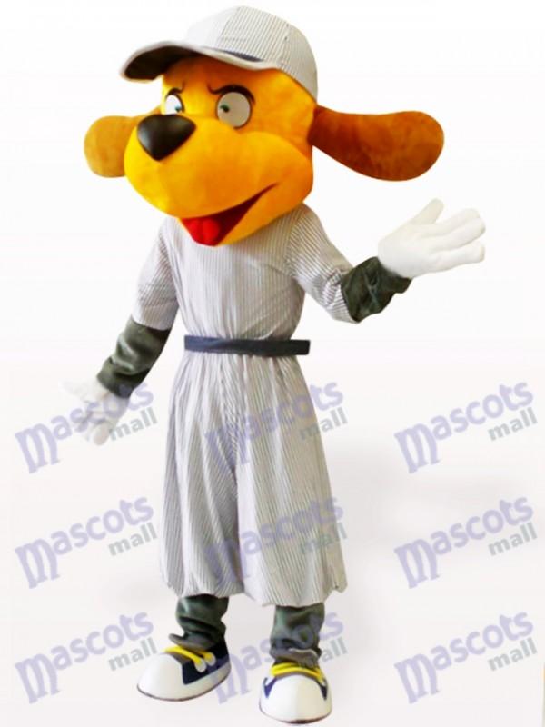 Baseball Hund Tier Erwachsene Maskottchen Kostüm