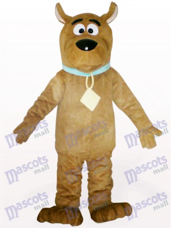 Brauner Hund Tier Maskottchen Kostüm für Erwachsene