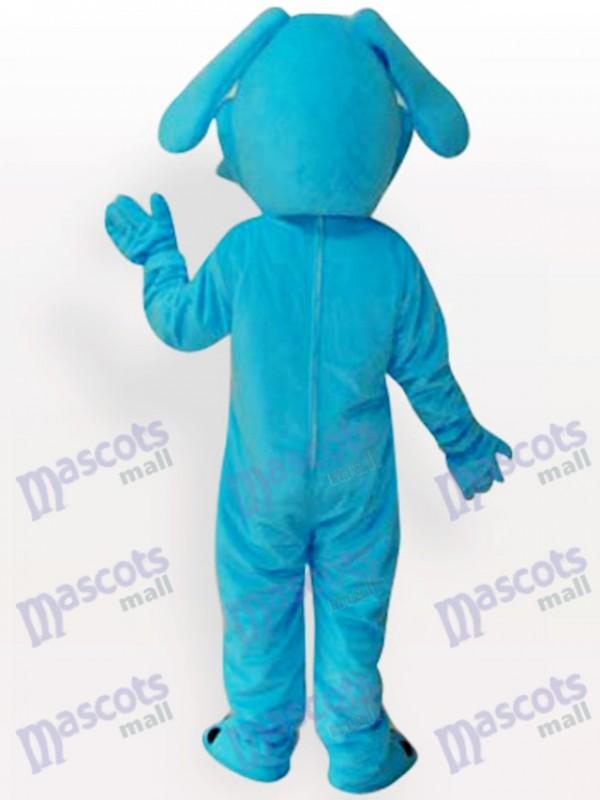 Blauer Hund Tier Maskottchen Lustiges Kostüm