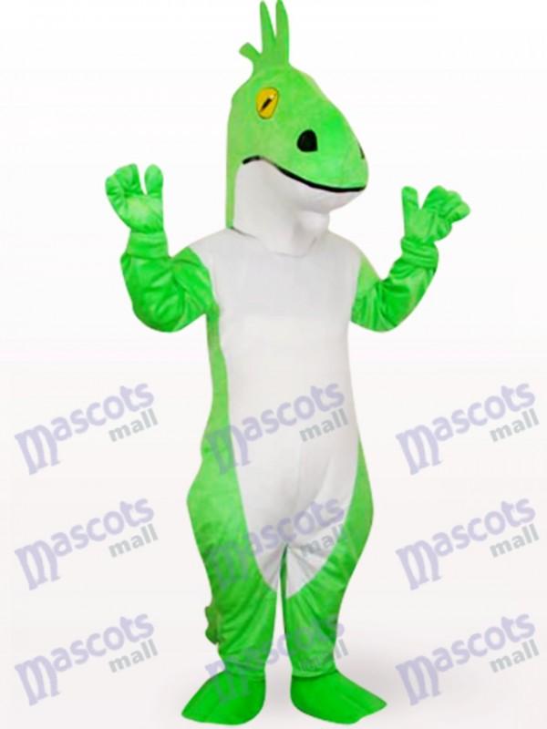 Grüner Drache Tier Maskottchen Kostüm