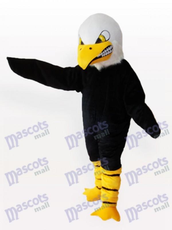 Aggressive Kahlköpfige Adler Maskottchen Lustiges Kostüm