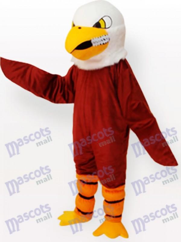 Brauner Adler Maskottchen Lustiges Kostüm
