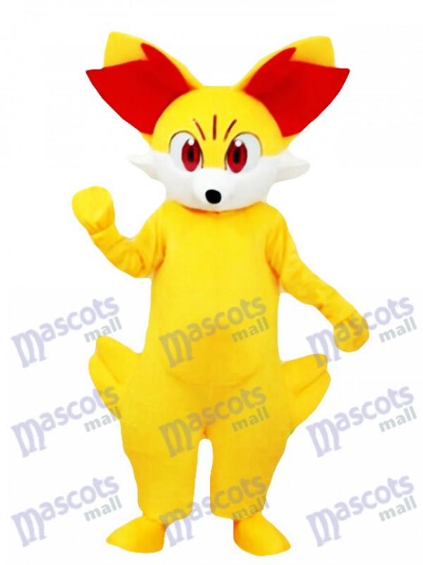 Gefeuertes Fennekin Maskottchen Kostüm Pokemon Pokémon GO Pocket Monster
