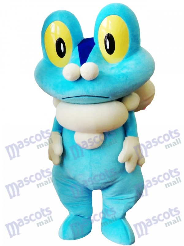 Blue Frog Froakie Maskottchen Kostüm Pokemon Pokémon GO Pocket MonsterBlue Frog Froakie Maskottchen Kostüm Pokemon Pokémon GO Pocket Monster