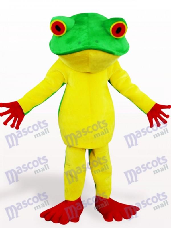 Frosch Tier Maskottchen Kostüm für Erwachsene