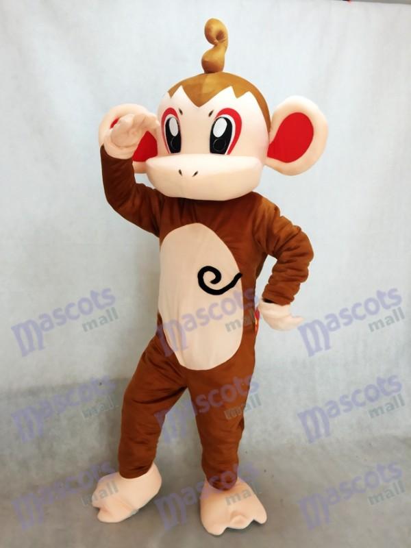 Schimpanse Pokémon Pokemon Go Chimchar Hikozaru Maskottchen Kostüm