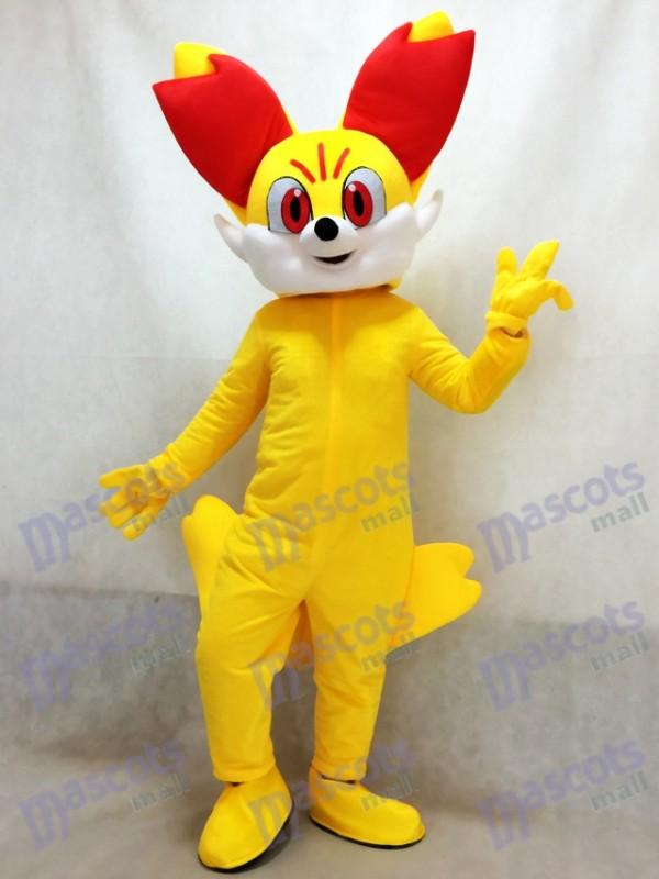 Pokemon Pokémon GO Pocket Monster Gelbfuchs gefeuert Fennekin Maskottchen Kostüm