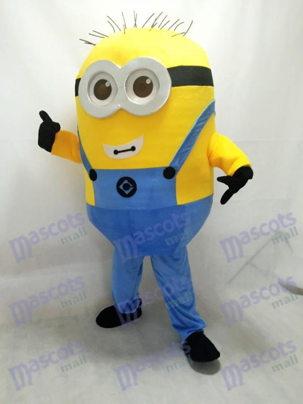 Despicable Me Minions mit Brille Maskottchen Kostüm B