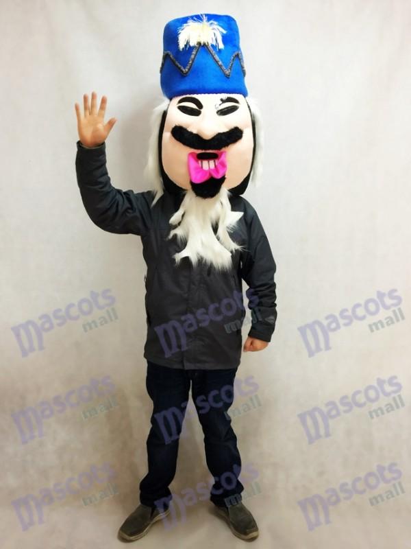 Nussknacker KOPF Maskottchen Kostüm King's Head NUR