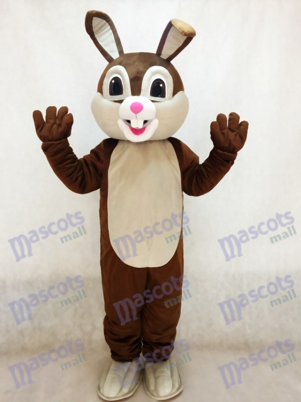 New Chocolate Easter Bunny Rabbit Mascot Costume