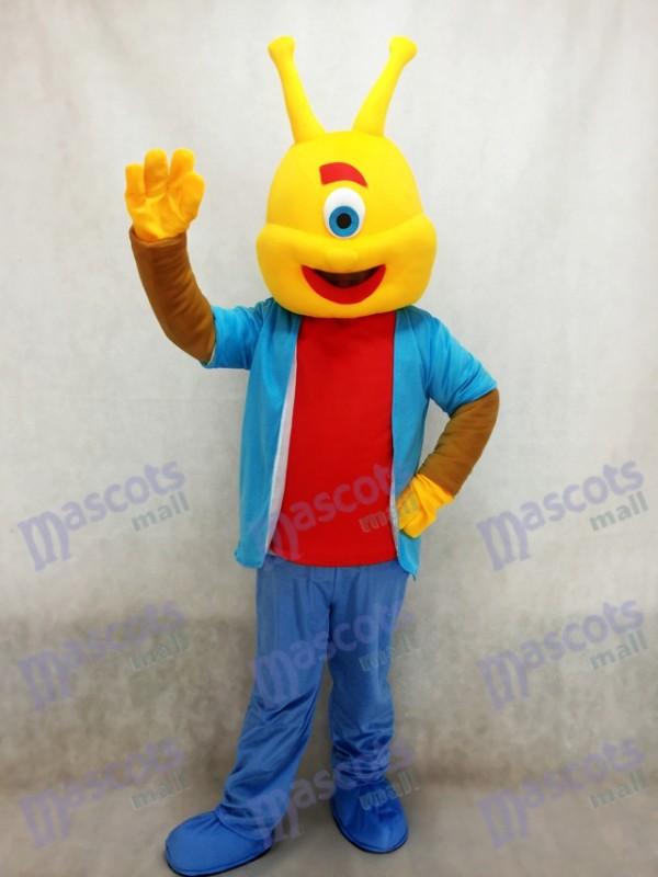 Alien Lilo Agent Pleakley Maskottchen Kostüm