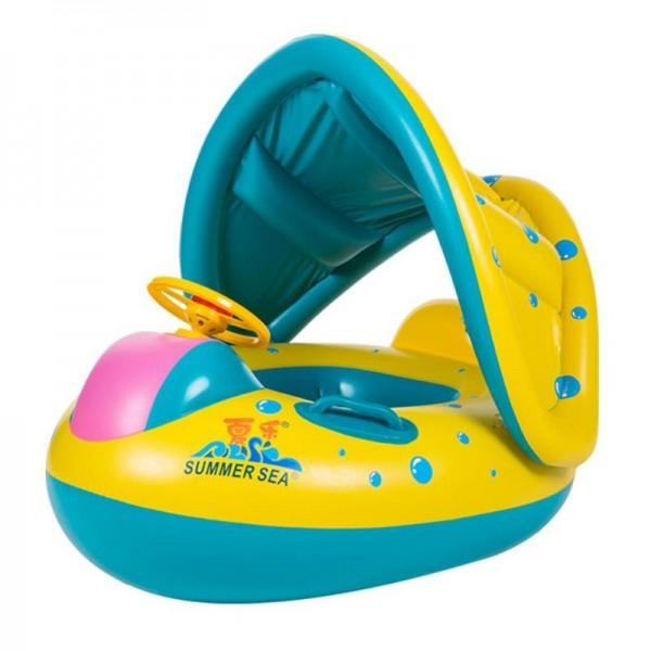 Aufblasbar Schwimmen Schweben Spielzeuge Sitz Boot Wasser Sport Zum Baby Kinder