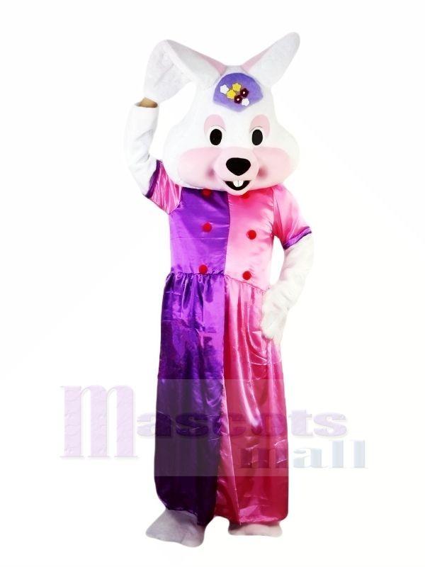Schick Kleid Ostern Hase Maskottchen Kostüme Tier