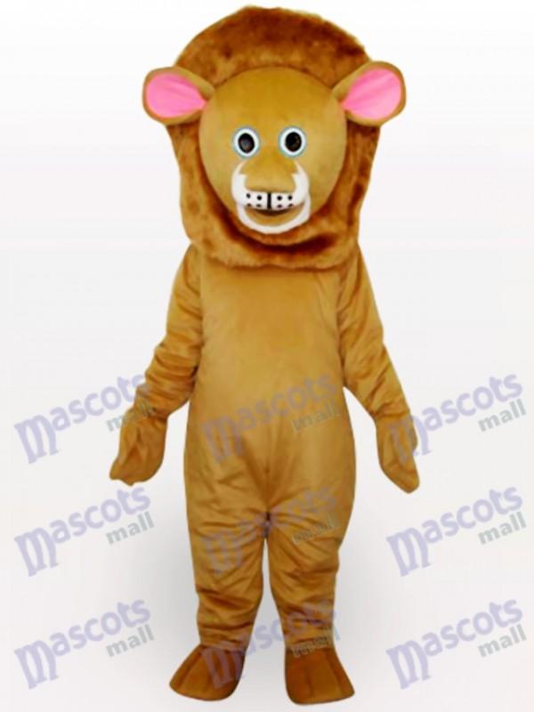 Braune Löwen Tier Maskottchen Kostüm für Erwachsene