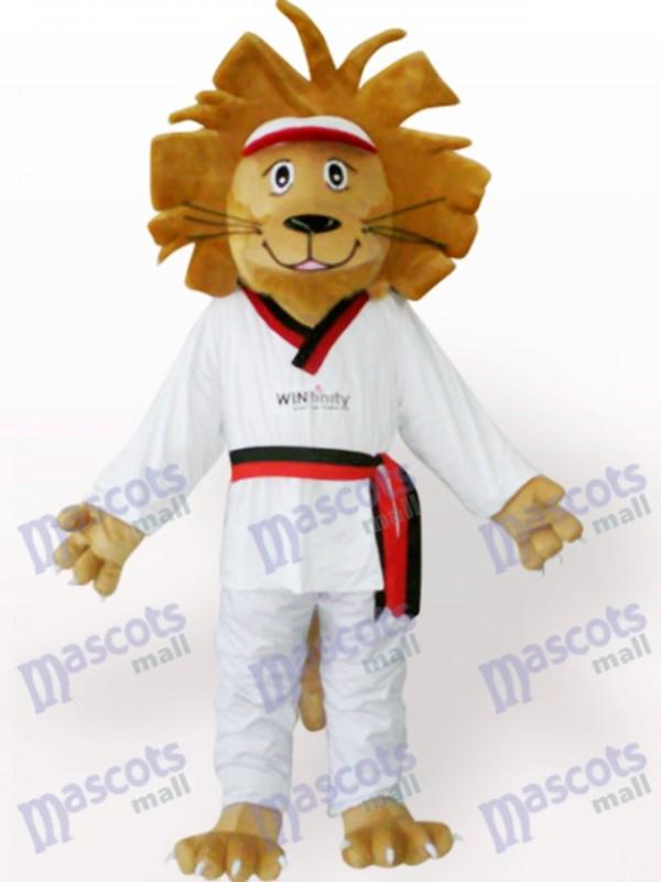 Glücklicher Löwe Tier Maskottchen Kostüm