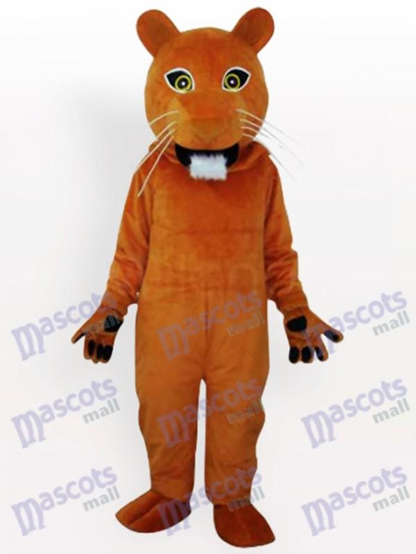 Puma Tier Maskottchen Kostüm