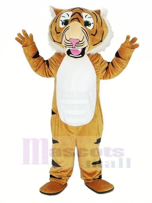 Super Muskel Tiger Maskottchen Kostüm Tier
