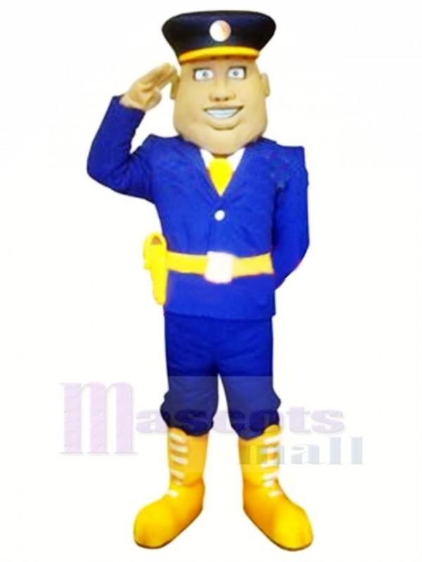 Cool Brigadegeneral Maskottchen Kostüm Menschen