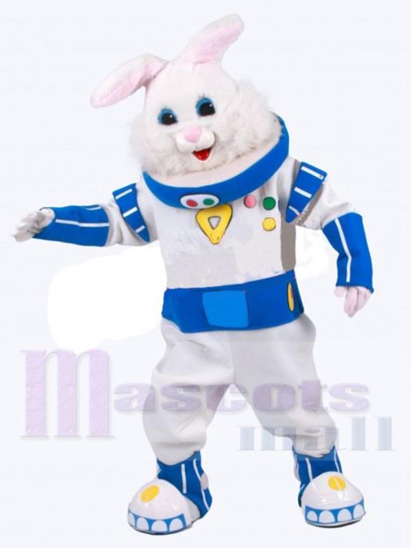 Astronaut Kaninchen maskottchen kostüm